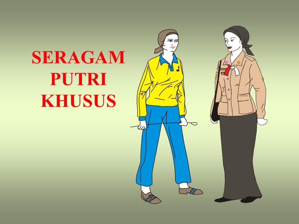 SERAGAM PUTRI KHUSUS