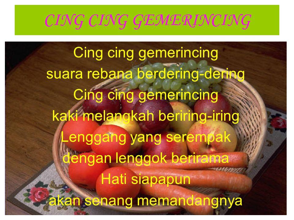 CING CING GEMERINCING Cing cing gemerincing