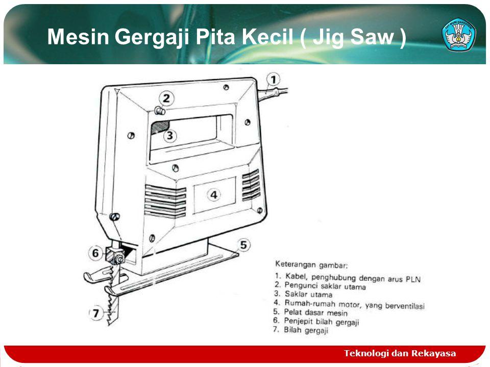 Mesin Gergaji Pita Kecil ( Jig Saw )