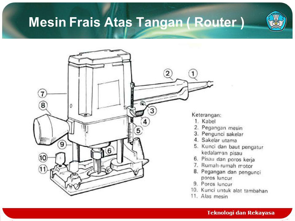 Mesin Frais Atas Tangan ( Router )
