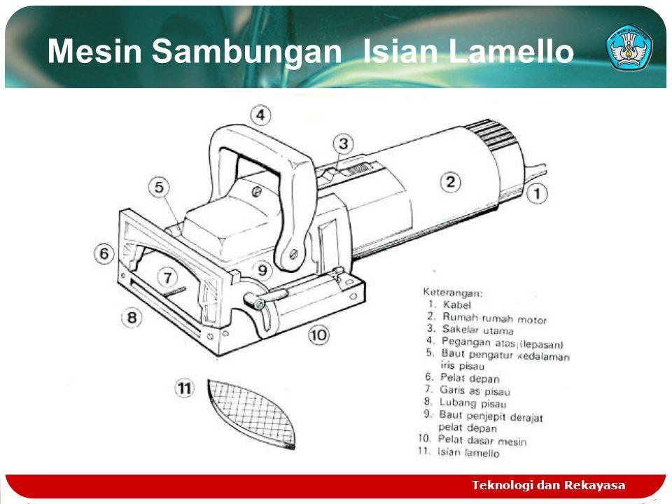 Mesin Sambungan Isian Lamello