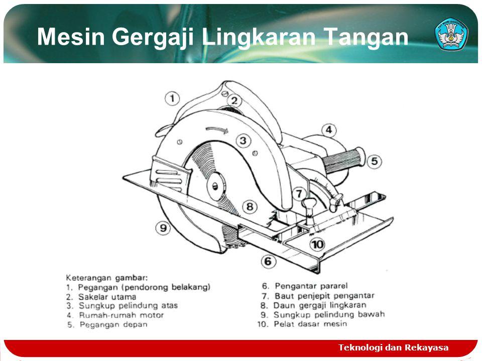 Mesin Gergaji Lingkaran Tangan