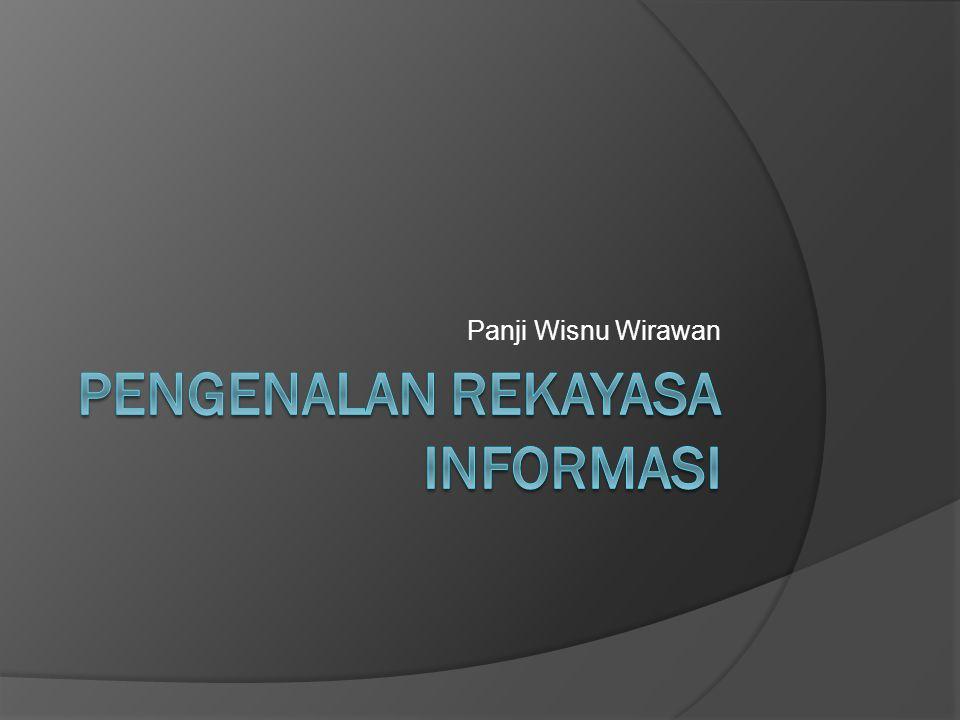 Pengenalan Rekayasa Informasi