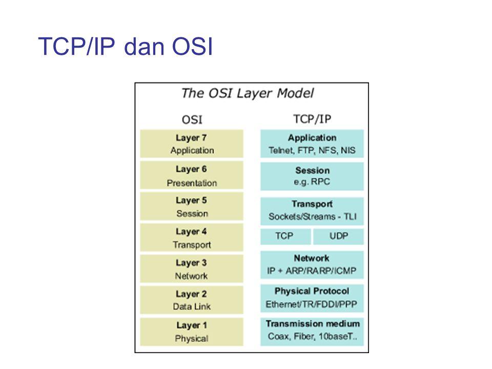 TCP/IP dan OSI