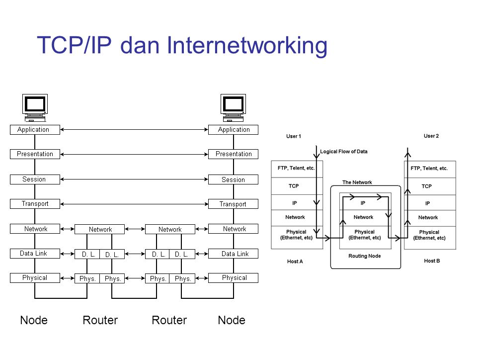 TCP/IP dan Internetworking