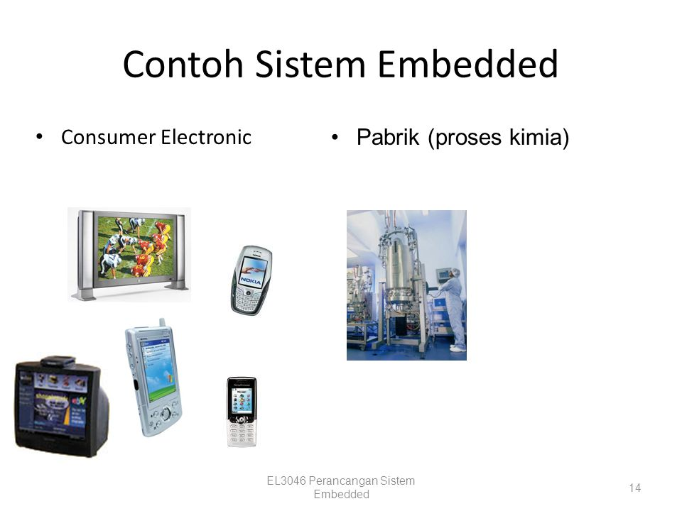 Contoh Sistem Embedded