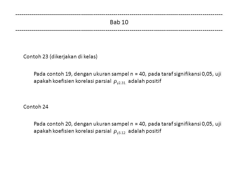 Contoh 23 (dikerjakan di kelas)