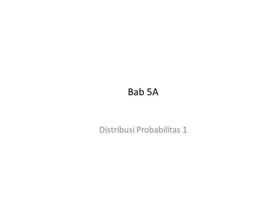 Distribusi Probabilitas 1
