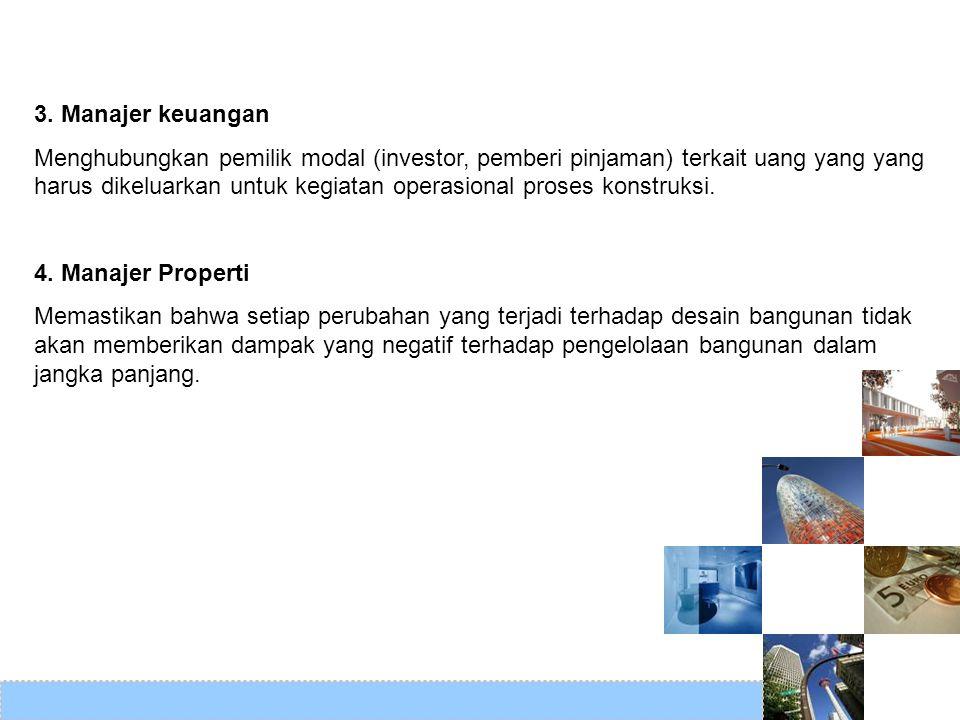 3. Manajer keuangan