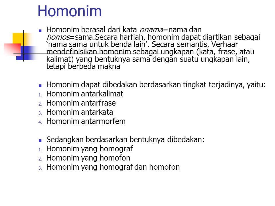 Homonim