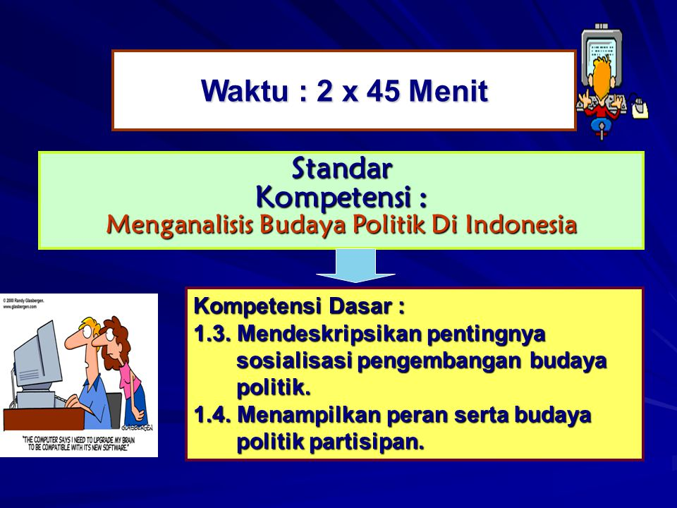Menganalisis Budaya Politik Di Indonesia