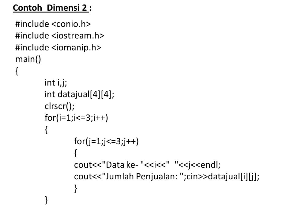 #include <conio.h> #include <iostream.h>