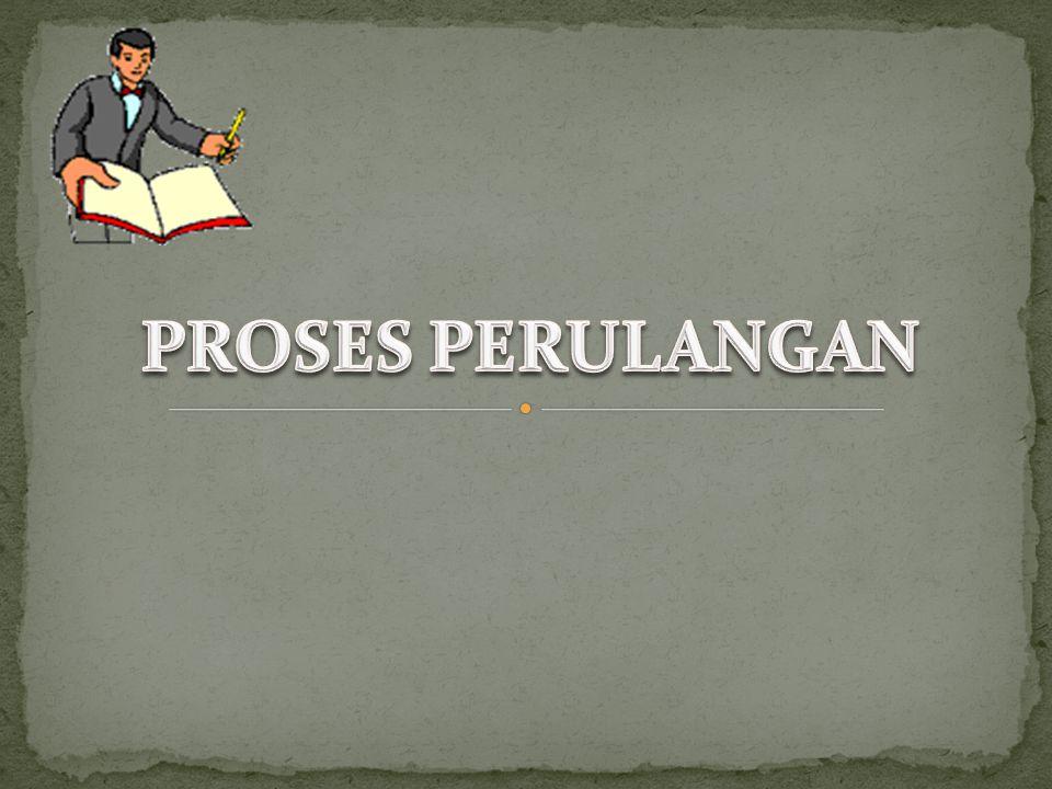 PROSES PERULANGAN