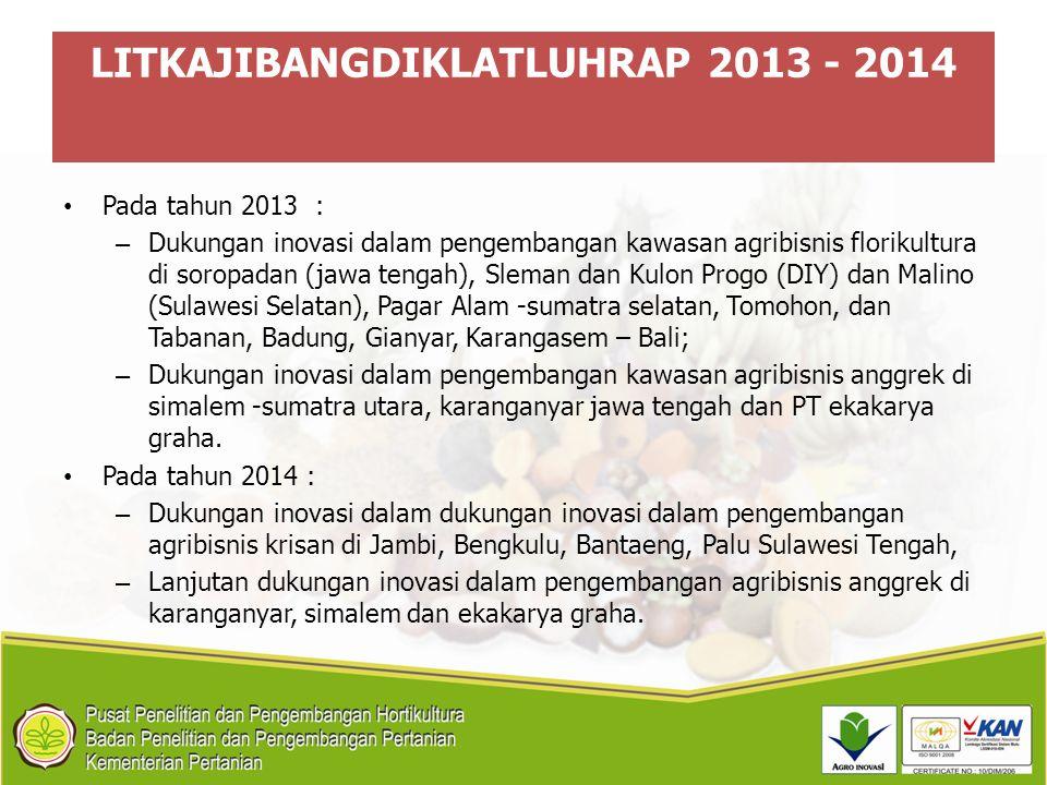 LITKAJIBANGDIKLATLUHRAP 2013 - 2014