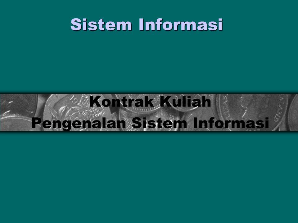 Kontrak Kuliah Pengenalan Sistem Informasi