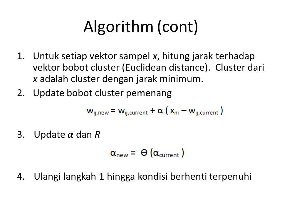 Algorithm (cont)