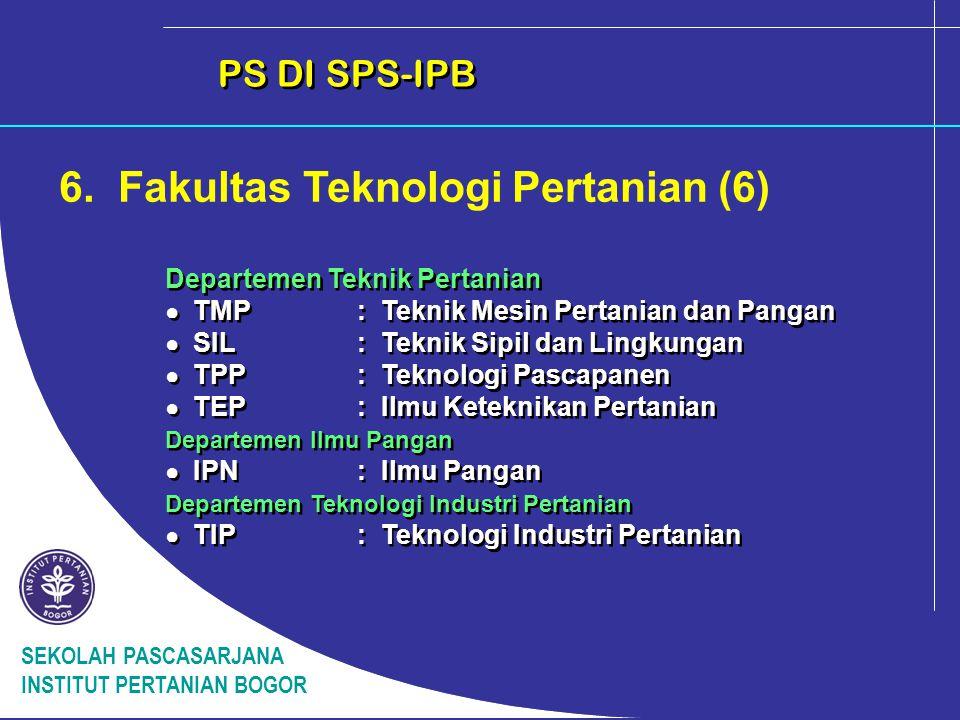 6. Fakultas Teknologi Pertanian (6)