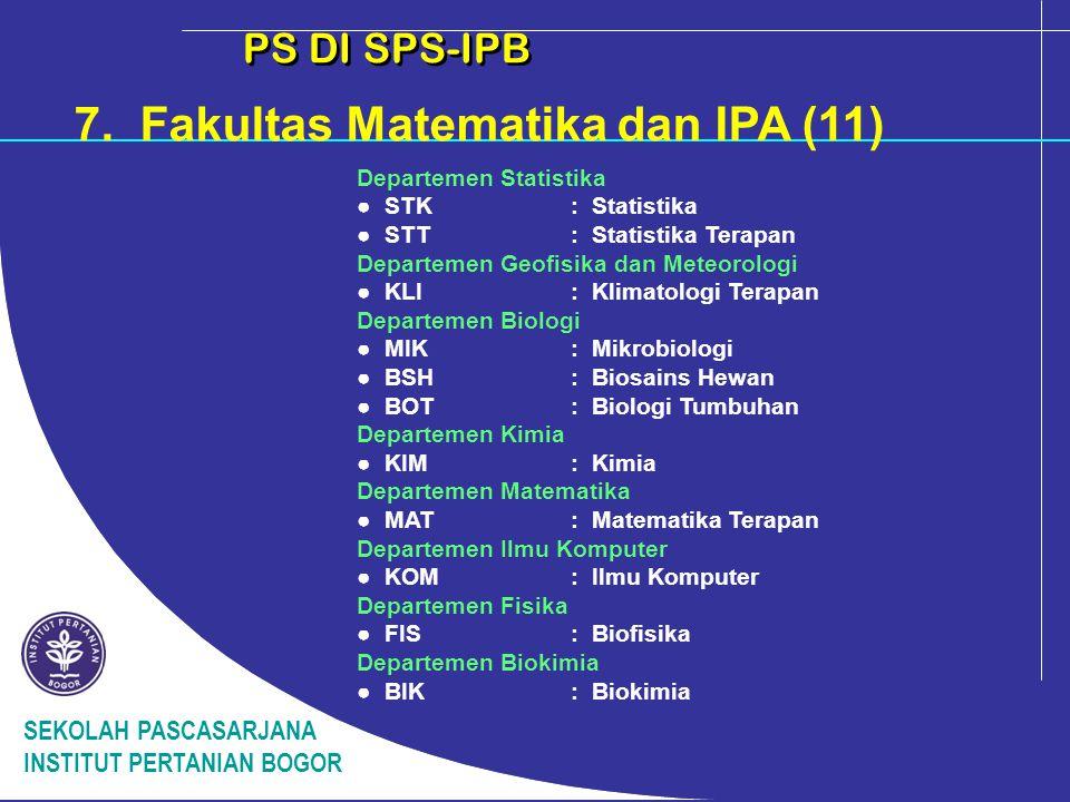 7. Fakultas Matematika dan IPA (11)