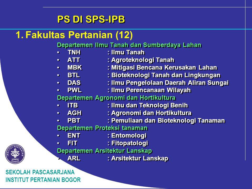 PS DI SPS-IPB 1. Fakultas Pertanian (12)