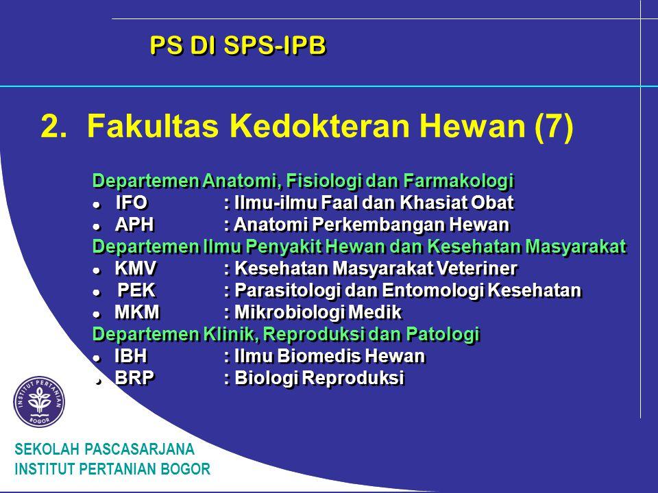 2. Fakultas Kedokteran Hewan (7)