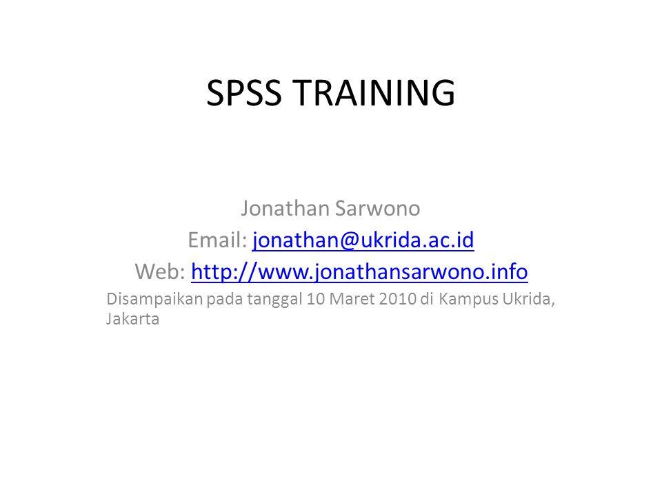 Web: http://www.jonathansarwono.info
