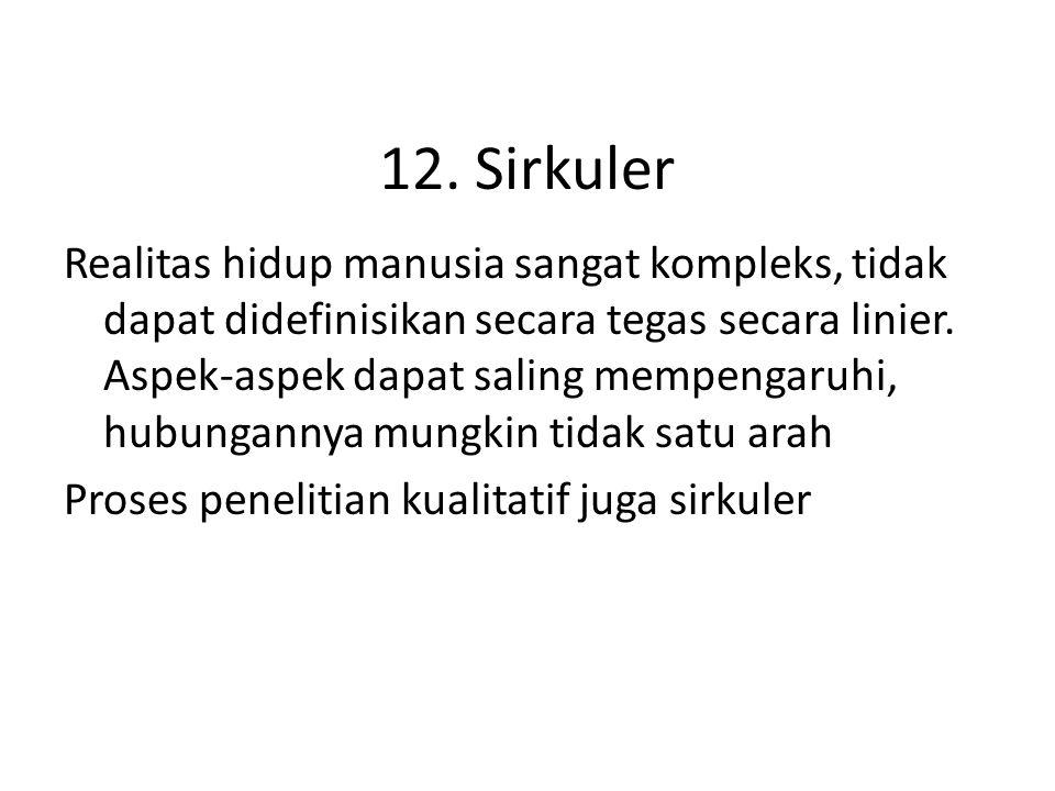 12. Sirkuler
