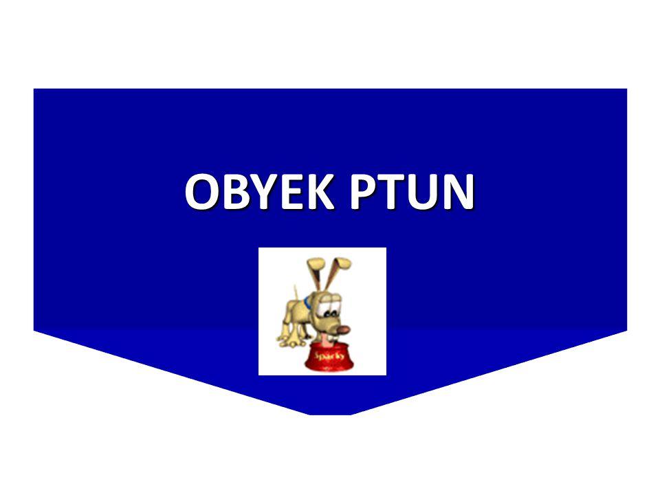 OBYEK PTUN