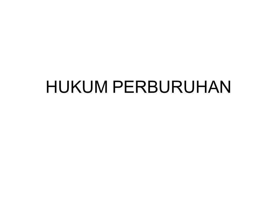 HUKUM PERBURUHAN