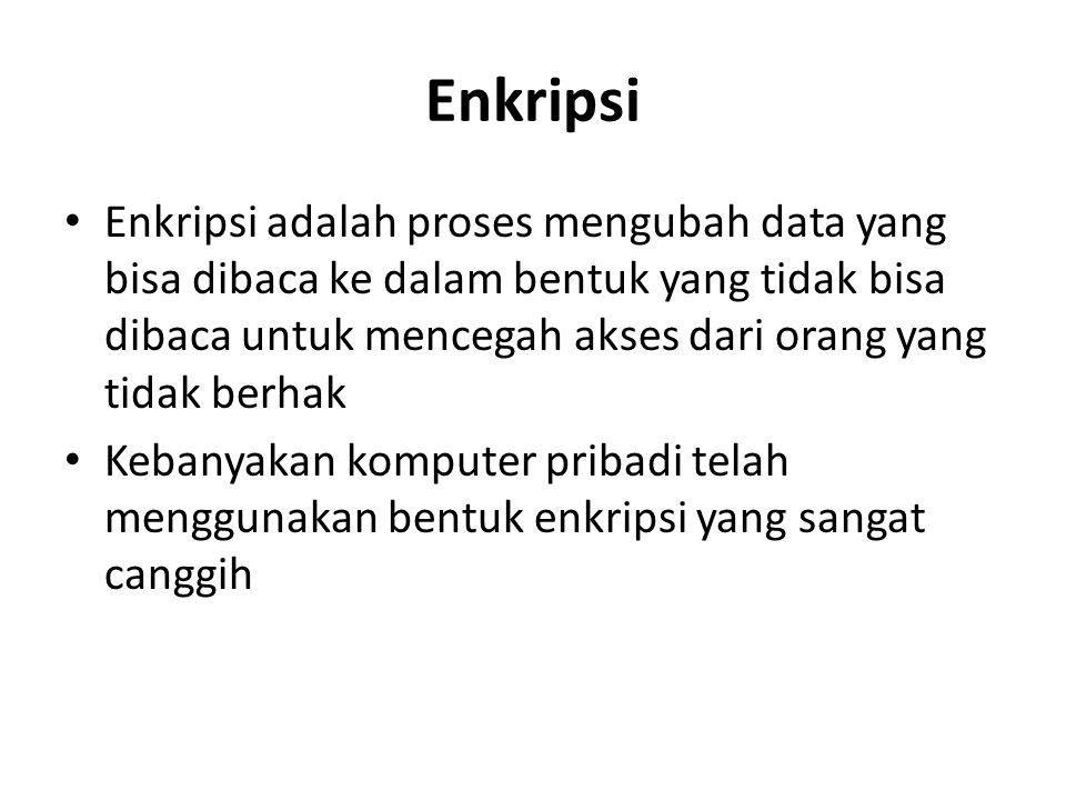 Enkripsi