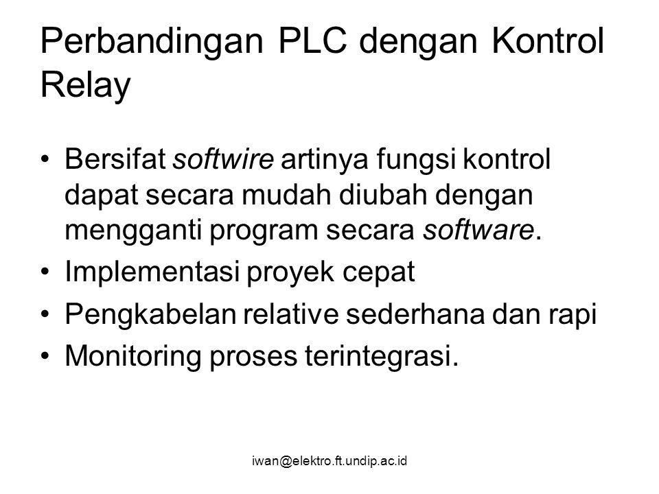 Perbandingan PLC dengan Kontrol Relay