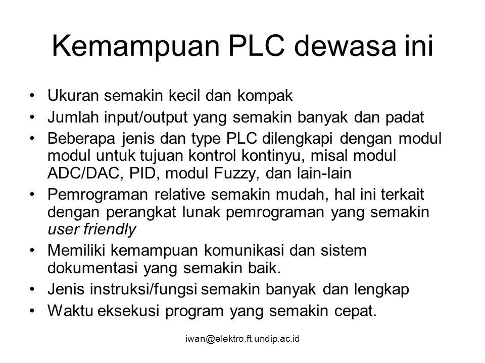 Kemampuan PLC dewasa ini