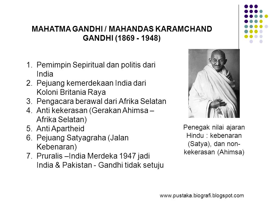 MAHATMA GANDHI / MAHANDAS KARAMCHAND GANDHI (1869 - 1948)