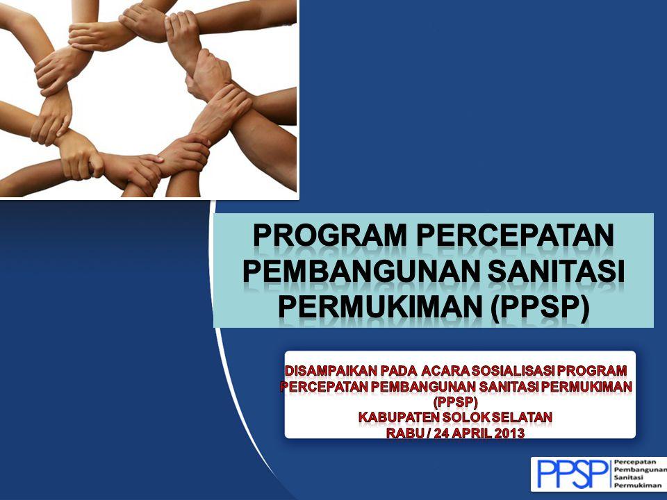 Program PERCEPATAN PEMBANGUNAN SANITASI PERMUKIMAN (PPSP)