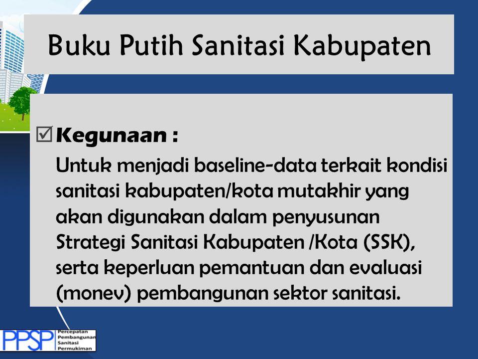 Buku Putih Sanitasi Kabupaten