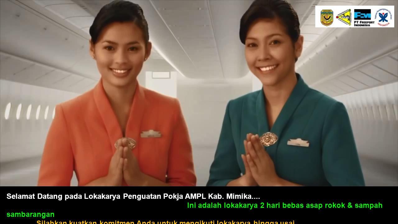 Selamat Datang pada Lokakarya Penguatan Pokja AMPL Kab. Mimika....