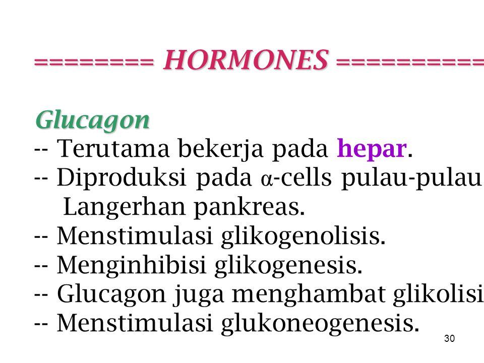 ======== HORMONES ===========