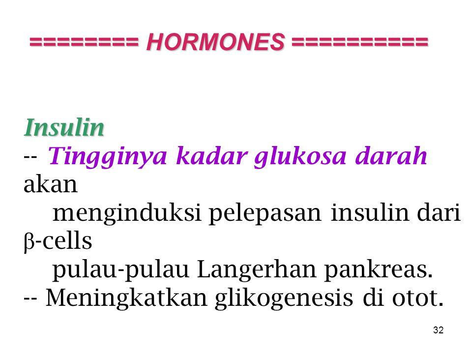 ======== HORMONES ==========