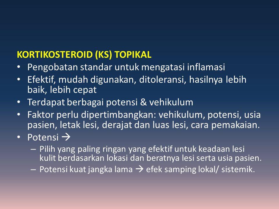 KORTIKOSTEROID (KS) TOPIKAL