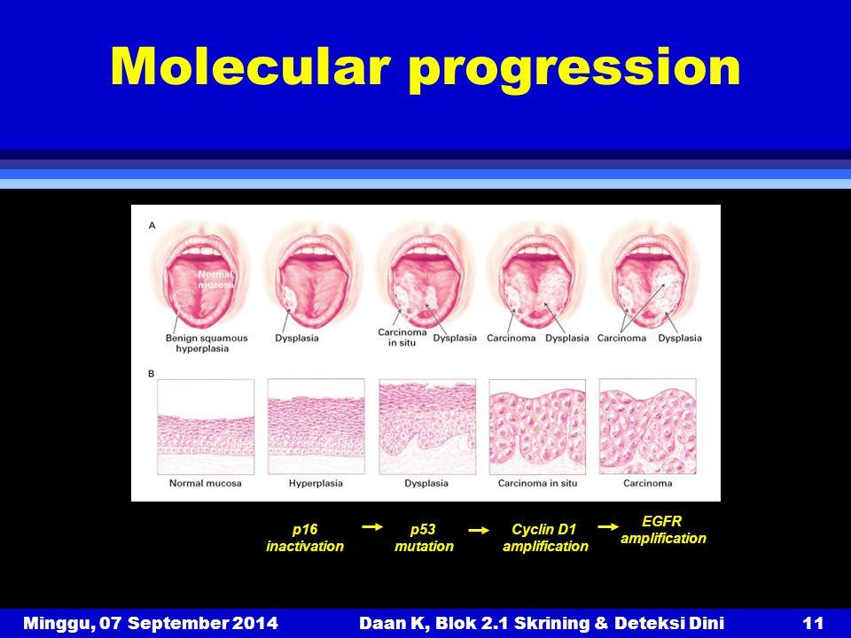 Molecular progression