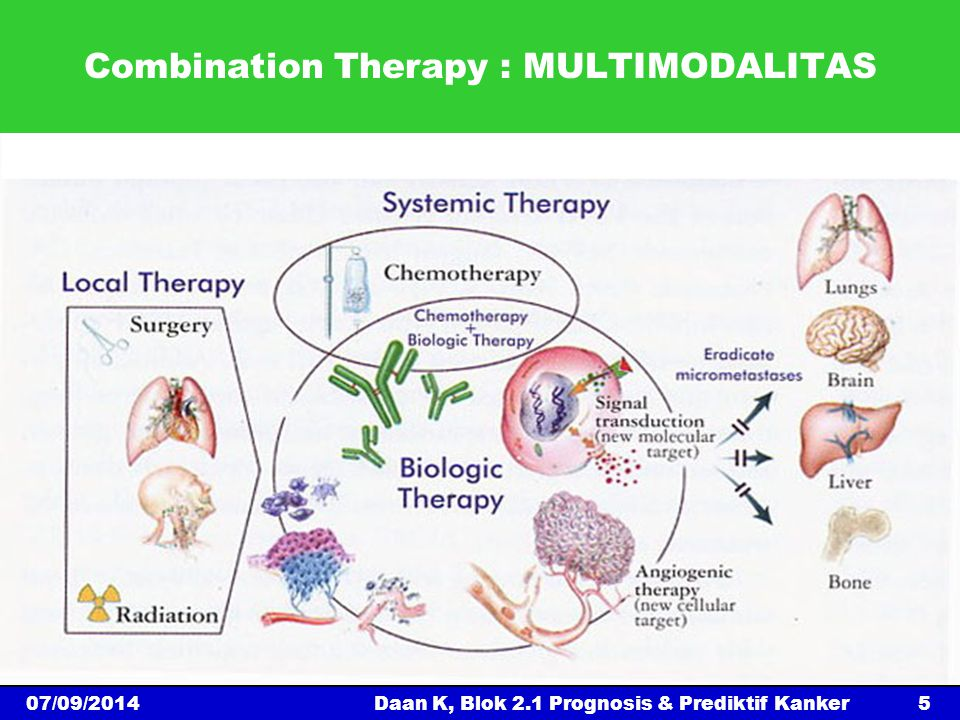 Combination Therapy : MULTIMODALITAS