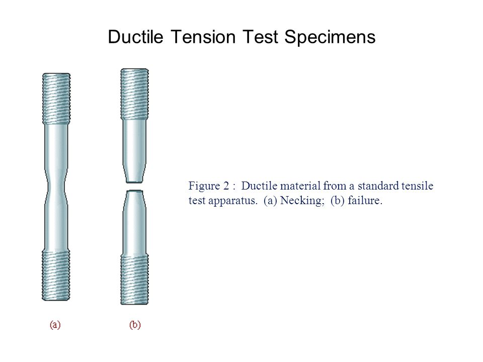 Ductile Tension Test Specimens