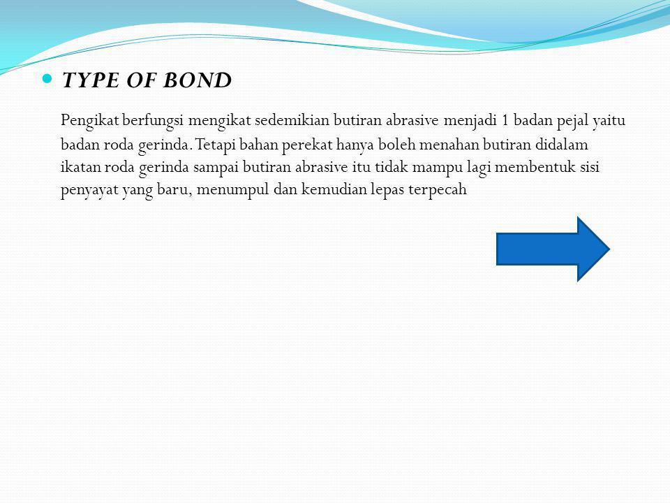 TYPE OF BOND