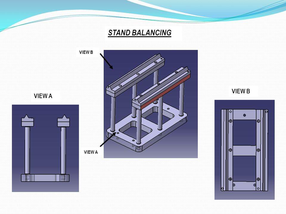 STAND BALANCING VIEW B VIEW B VIEW A VIEW A