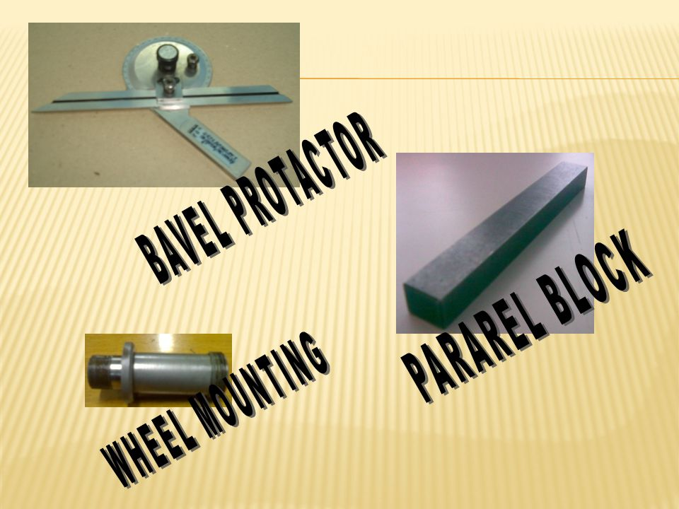 BAVEL PROTACTOR PARAREL BLOCK WHEEL MOUNTING