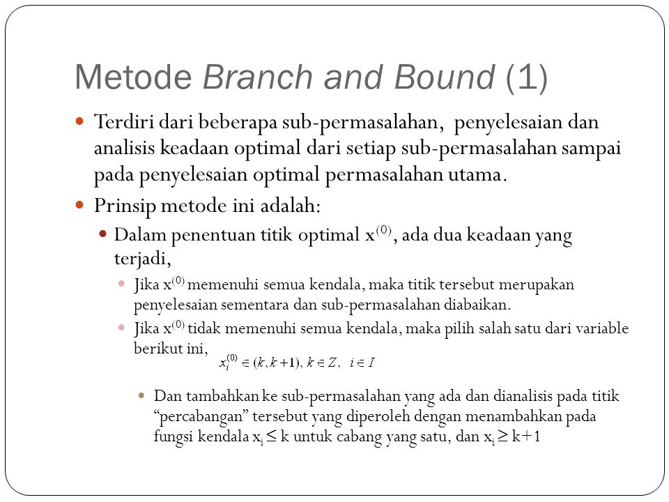 Metode Branch and Bound (1)