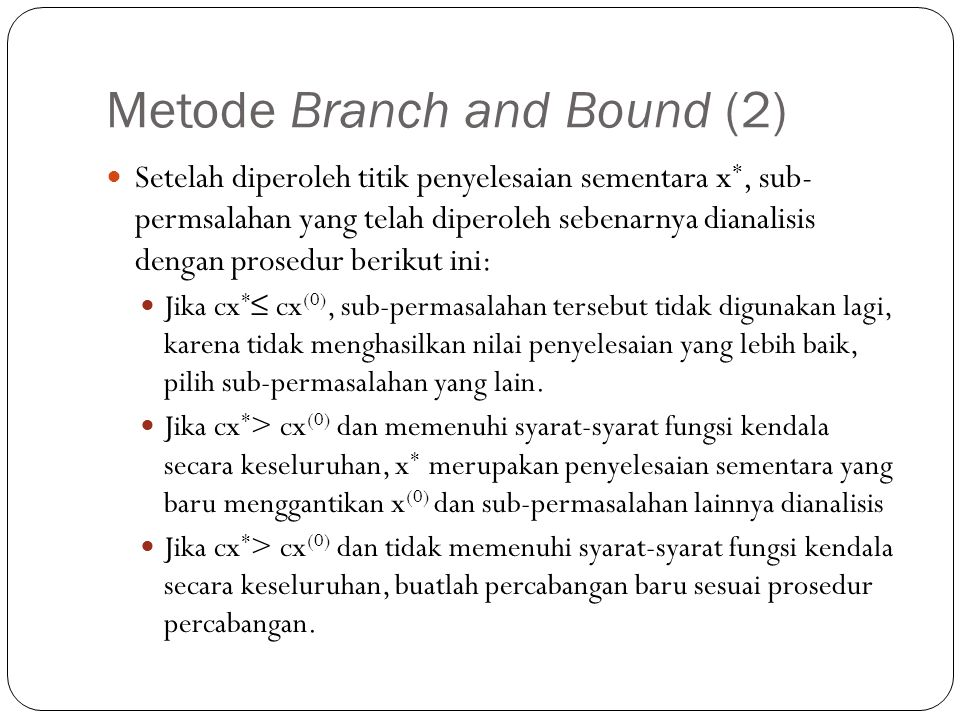 Metode Branch and Bound (2)