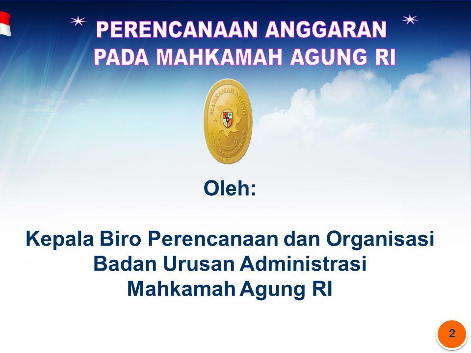 Kepala Biro Perencanaan dan Organisasi Badan Urusan Administrasi