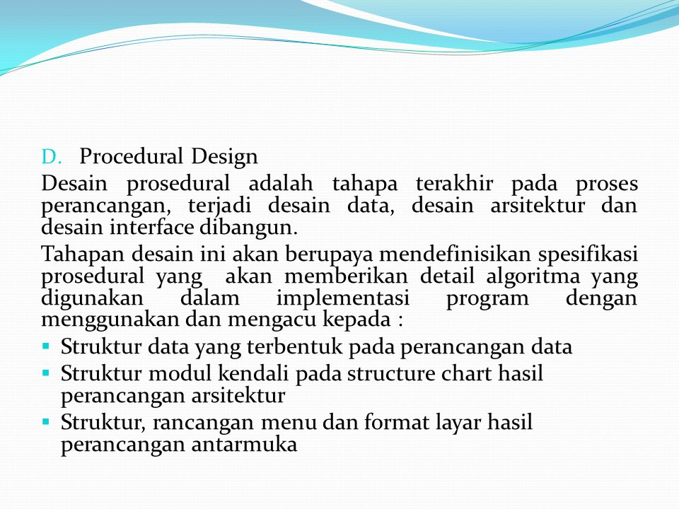 Procedural Design