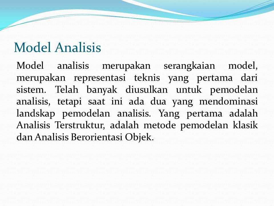 Model Analisis