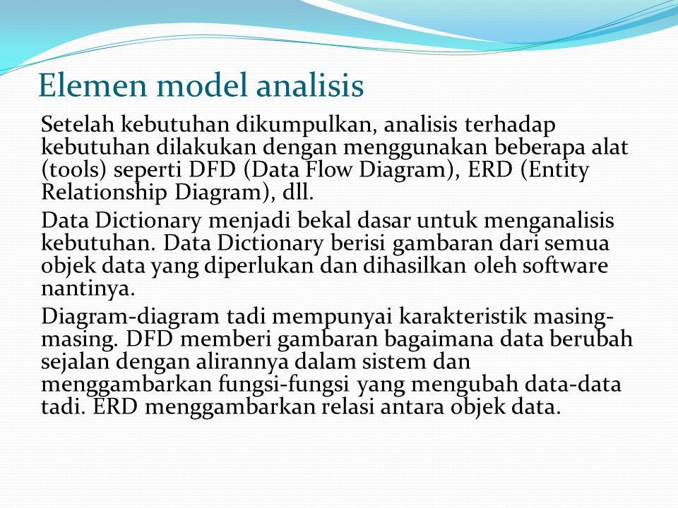 Elemen model analisis